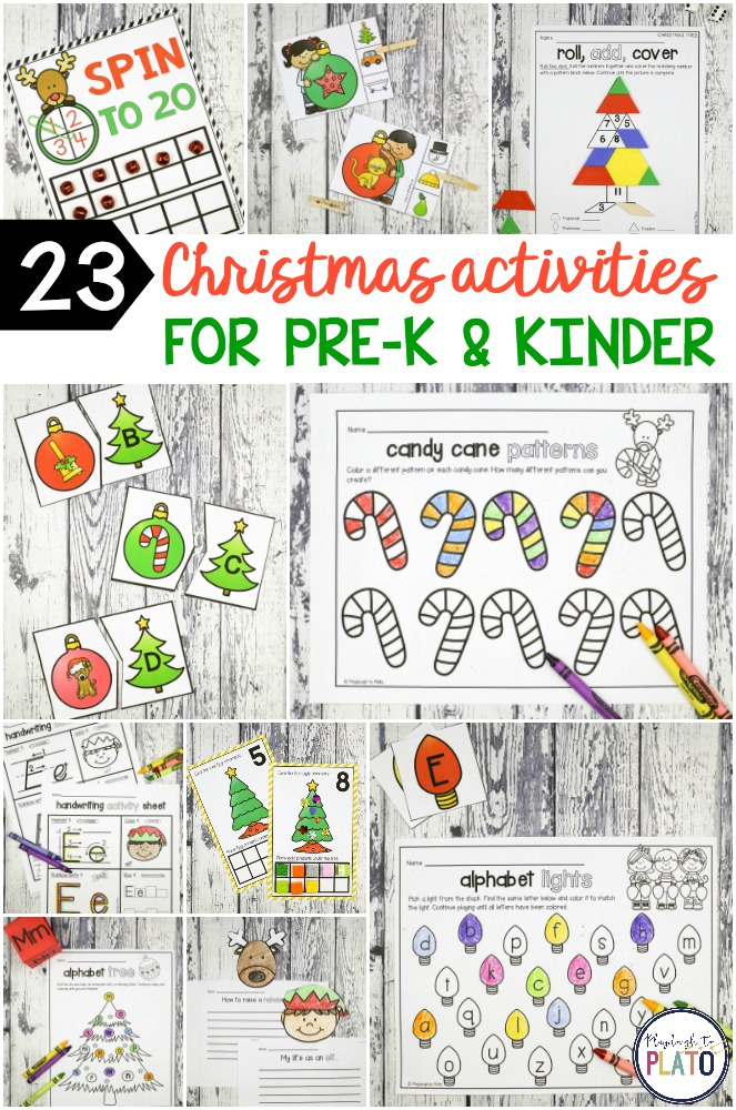 Christmas activity pack the stem laboratory for Christmas crafts for kindergarten class