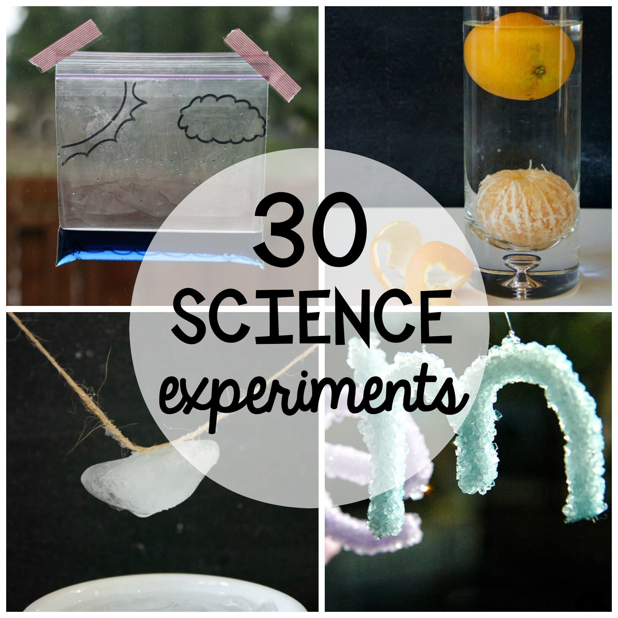 30 Science Experiments