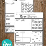 Odd and Even Activity Sheets