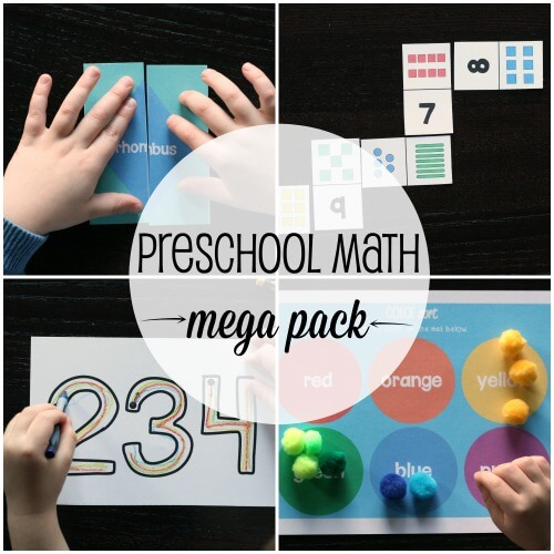 Preschool-Math-Mega-Pack-500