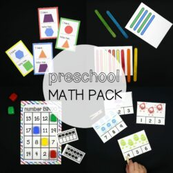 Preschool Math Pack
