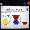Roll and cover! Fun shape and number practice.