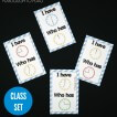 I Have Who Has Telling Time Game! Great way to teach kids how to read an analog clock.