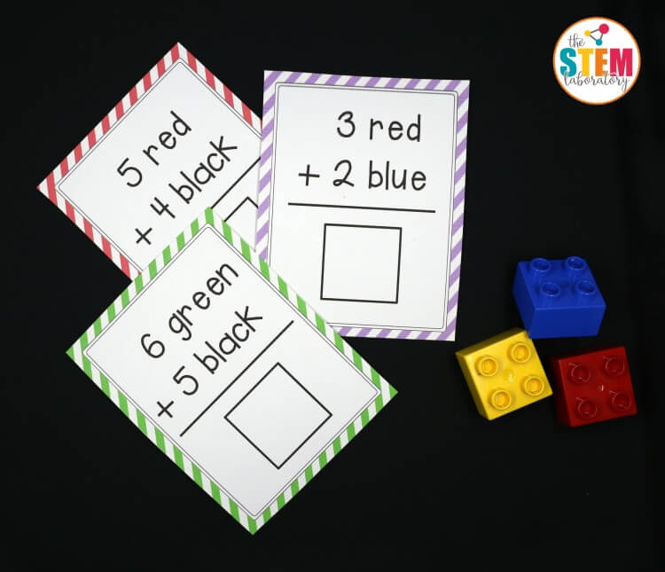I love these free LEGO addition cards! So fun for a math center, addition game, or homeschool activity!
