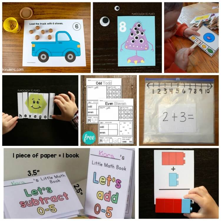 Super fun STEM activities for kids! There's a math activity for every age in this roundup.