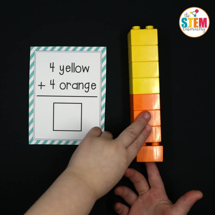 These free LEGO addition cards are awesome! Such a fun way to teach kids about adding. They would be perfect for first grade or second grade math centers.