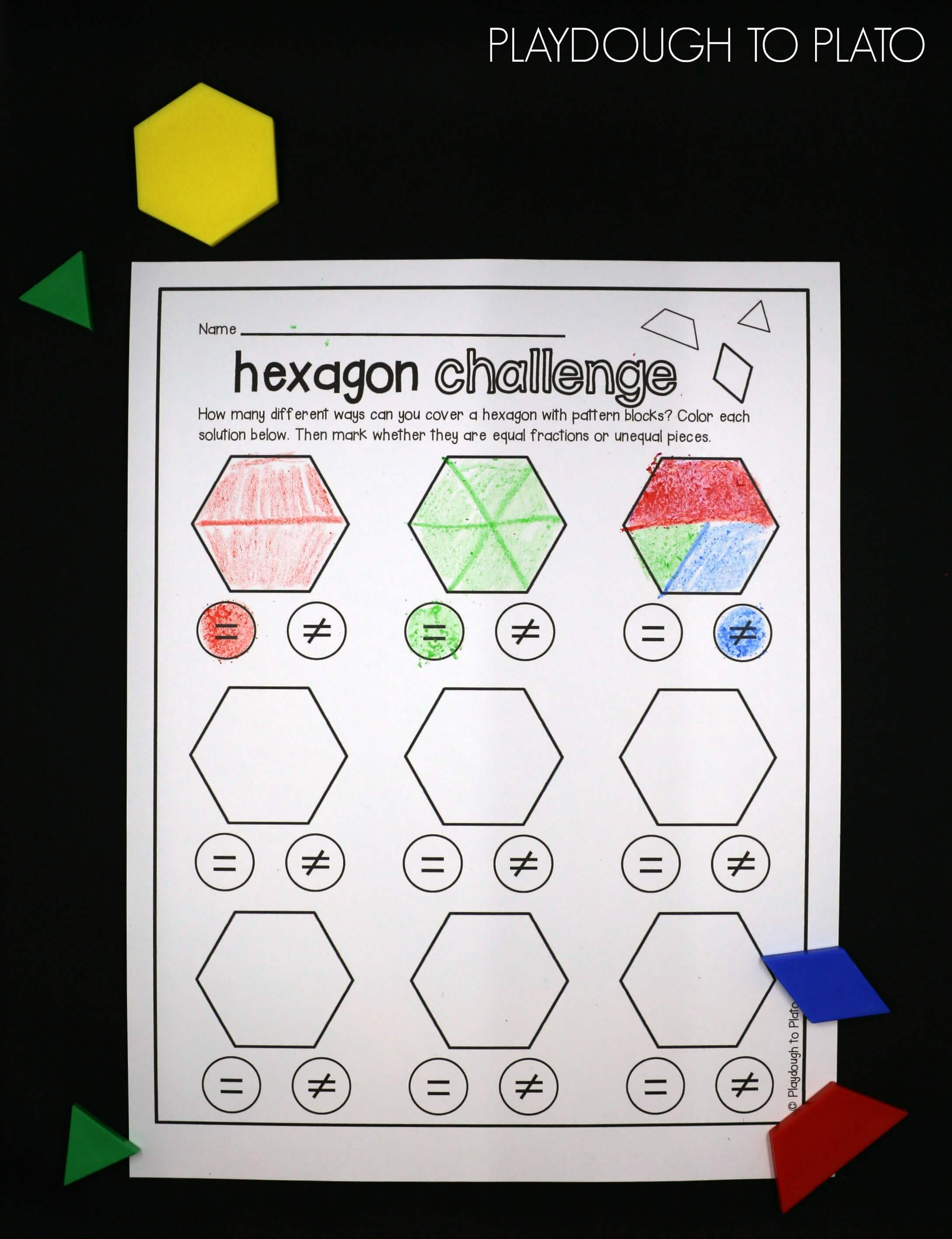 Fraction Activity Pack - The Stem Laboratory