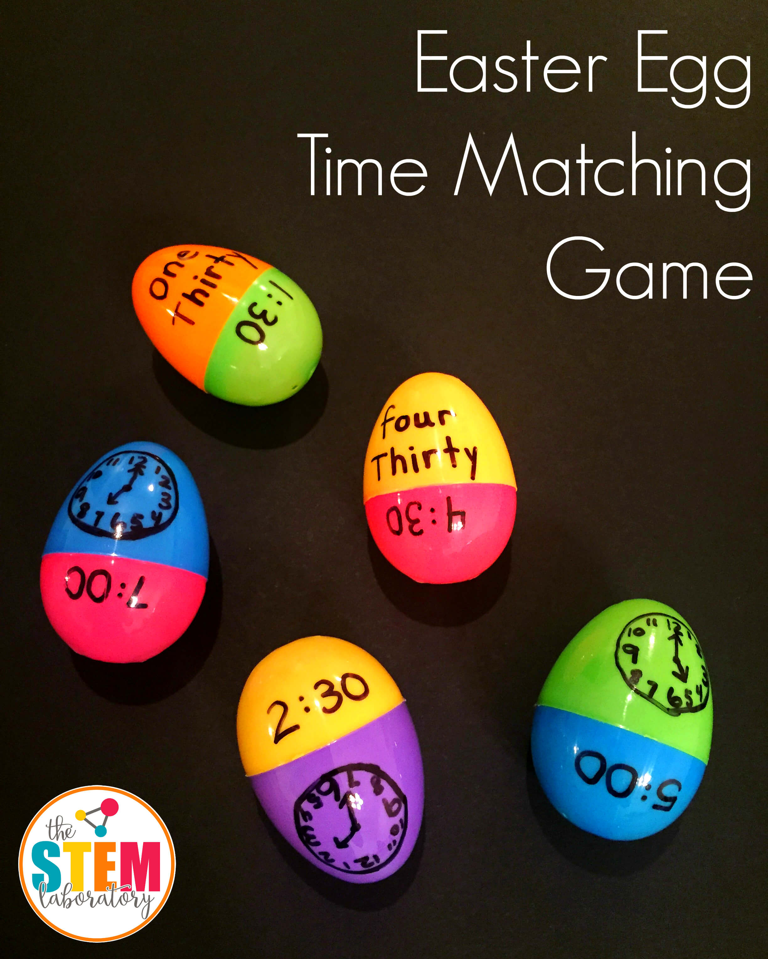 EASTER EGG TIME MATCHING GAME - The Stem Laboratory