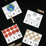 Outer Space Clip Cards