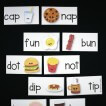 Such a fun way to practice word families. Match up the puzzles and write the pairs on the record sheet.