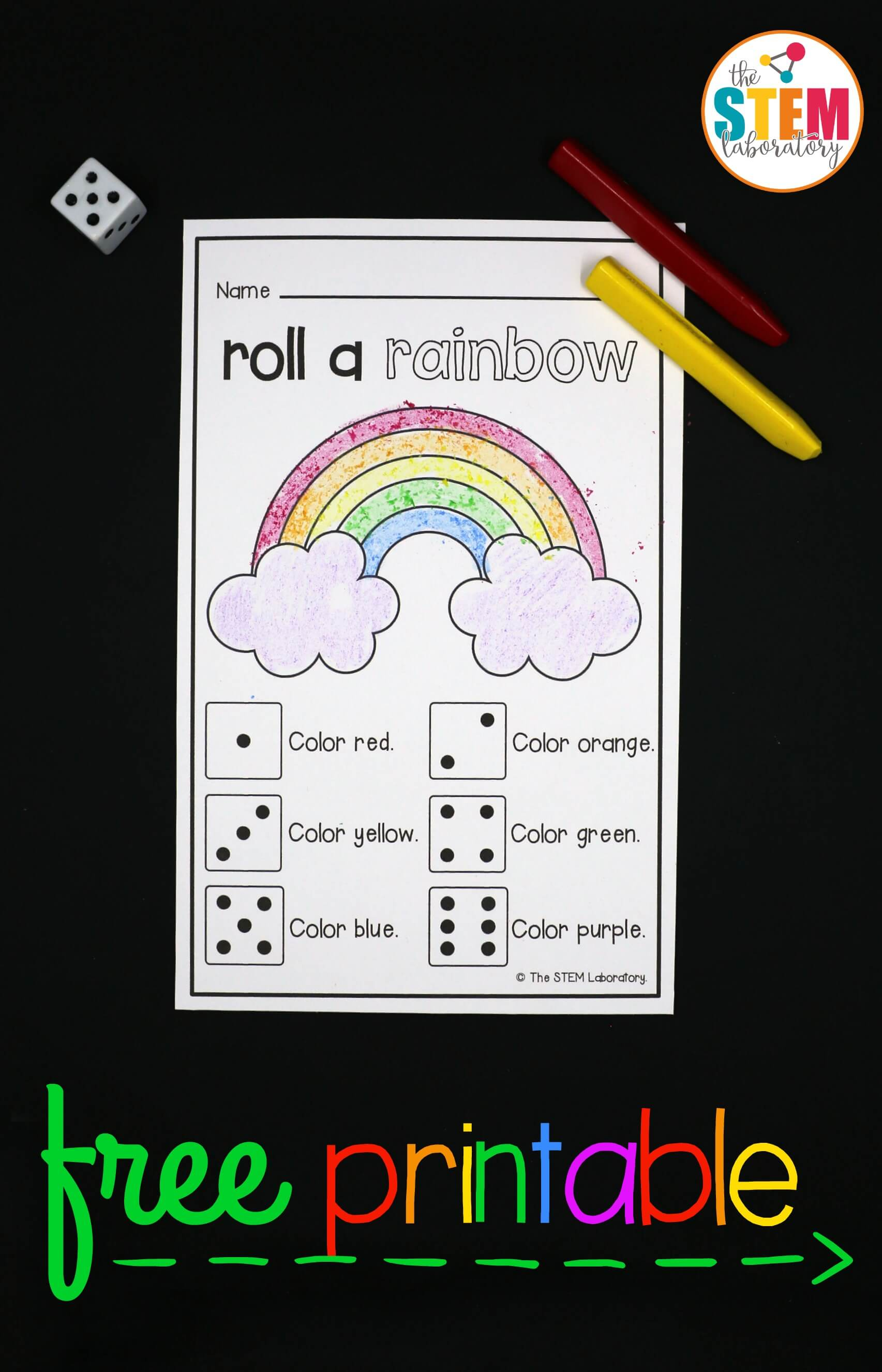 Roll A Rainbow The Stem Laboratory