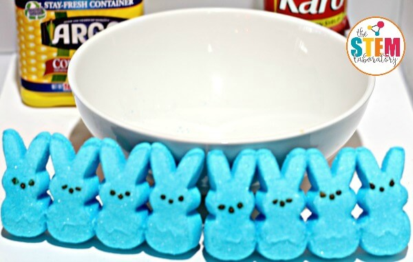 Love Peeps®? Then you will love this easy Peeps® slime science experiment!