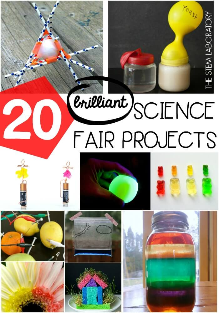 20 brilliant science fair projects for kids!