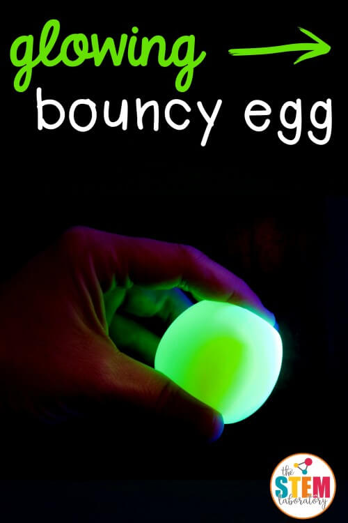 Glowing Bouncy Egg