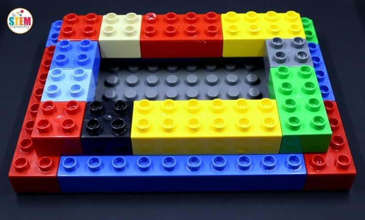 Build a LEGO volcano! Genius STEM activity for kids.