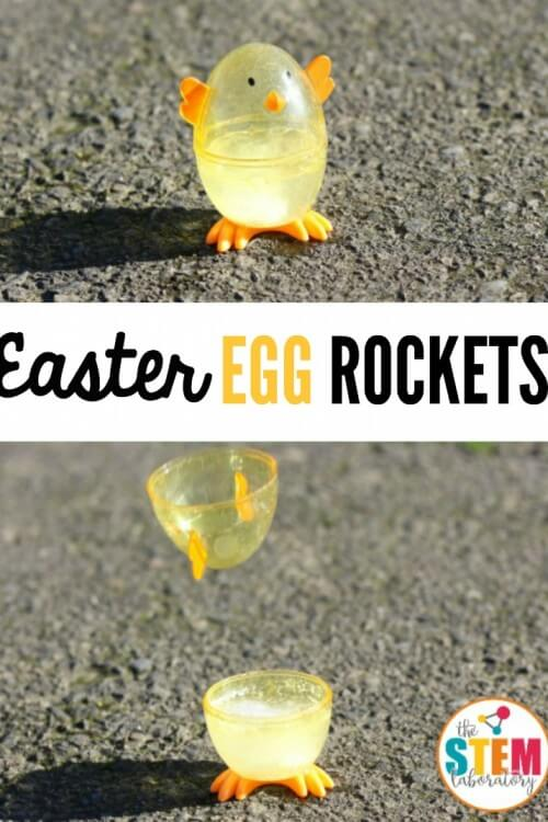 Easter Egg Rockets