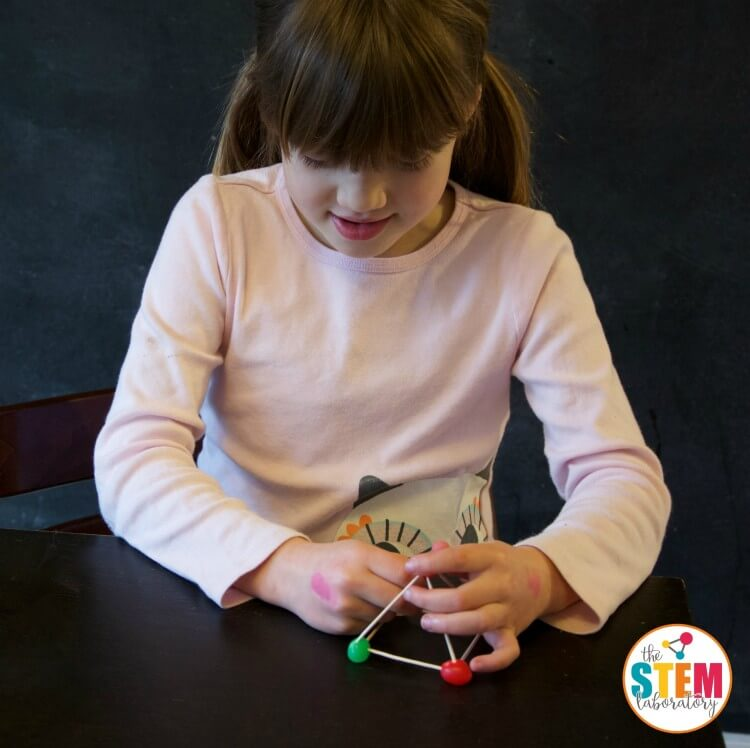 I love these jellybean STEM structures. Such a fun engineering project for kids!