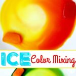 Ice Color Mixing