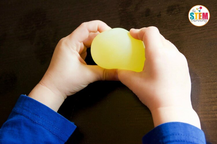 Make a glowing bouncy egg. Awesome science for kids!