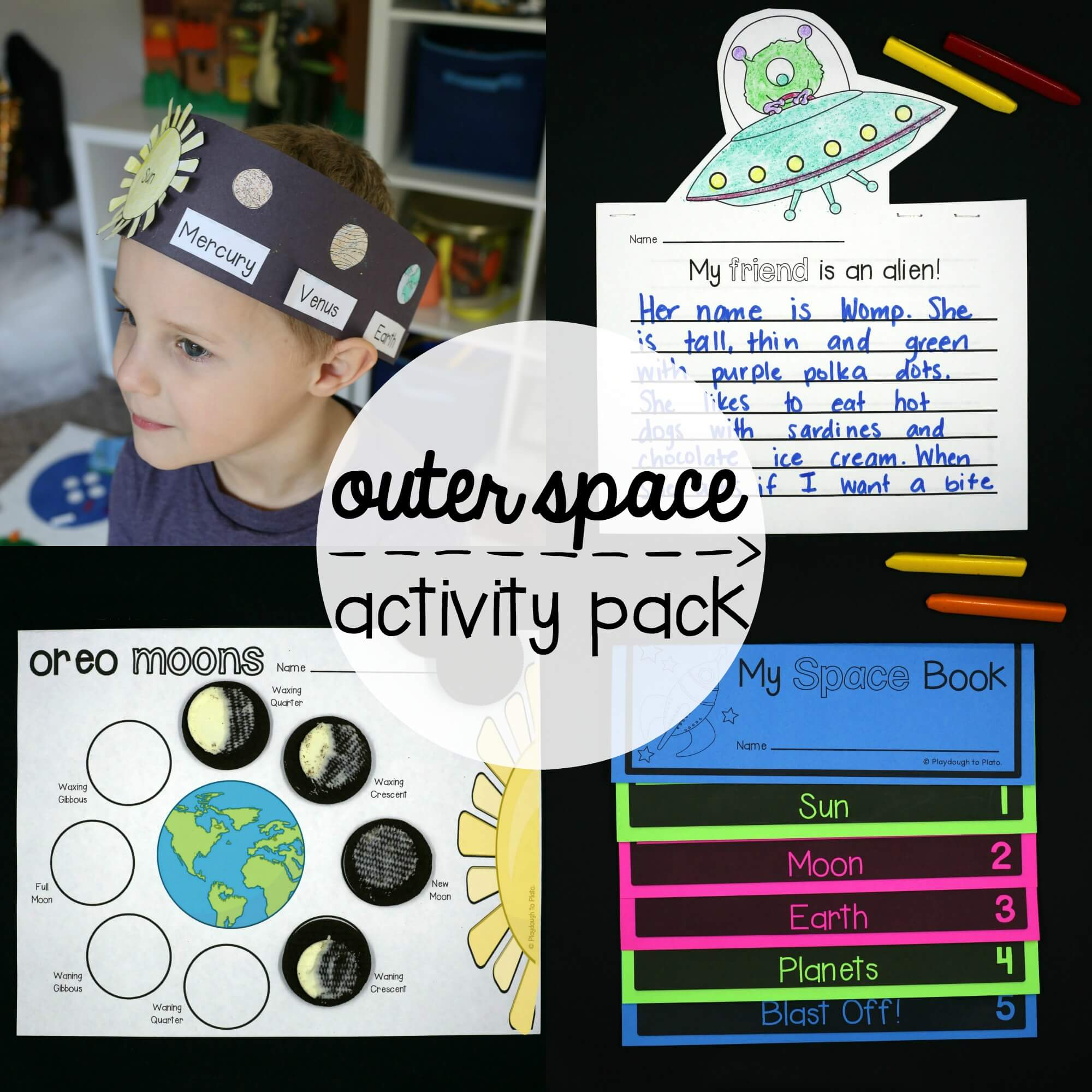 Outer Space Activity Pack The Stem Laboratory