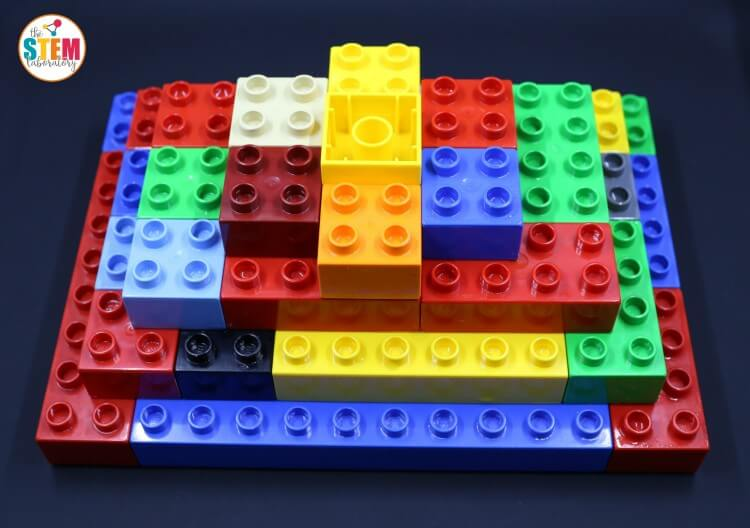 Such a cool science experiment for kids! Build a LEGO volcano that really erupts!!