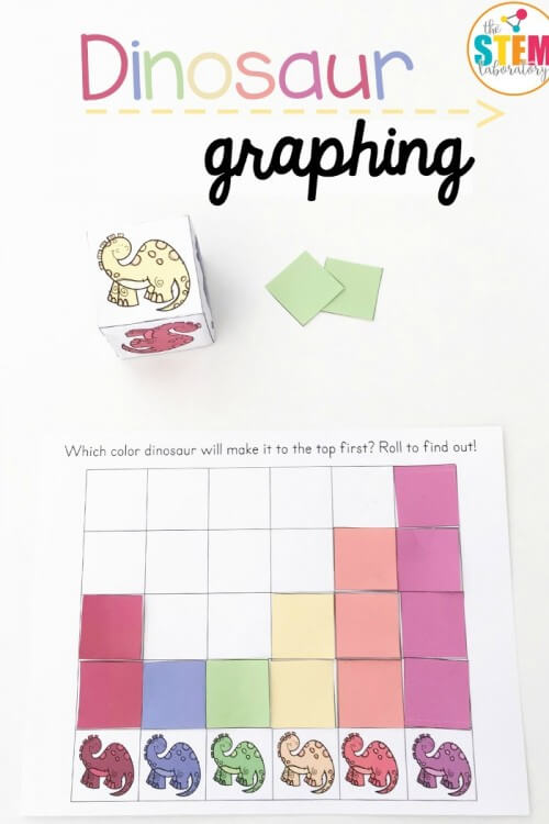 Dinosaur Math Graphing