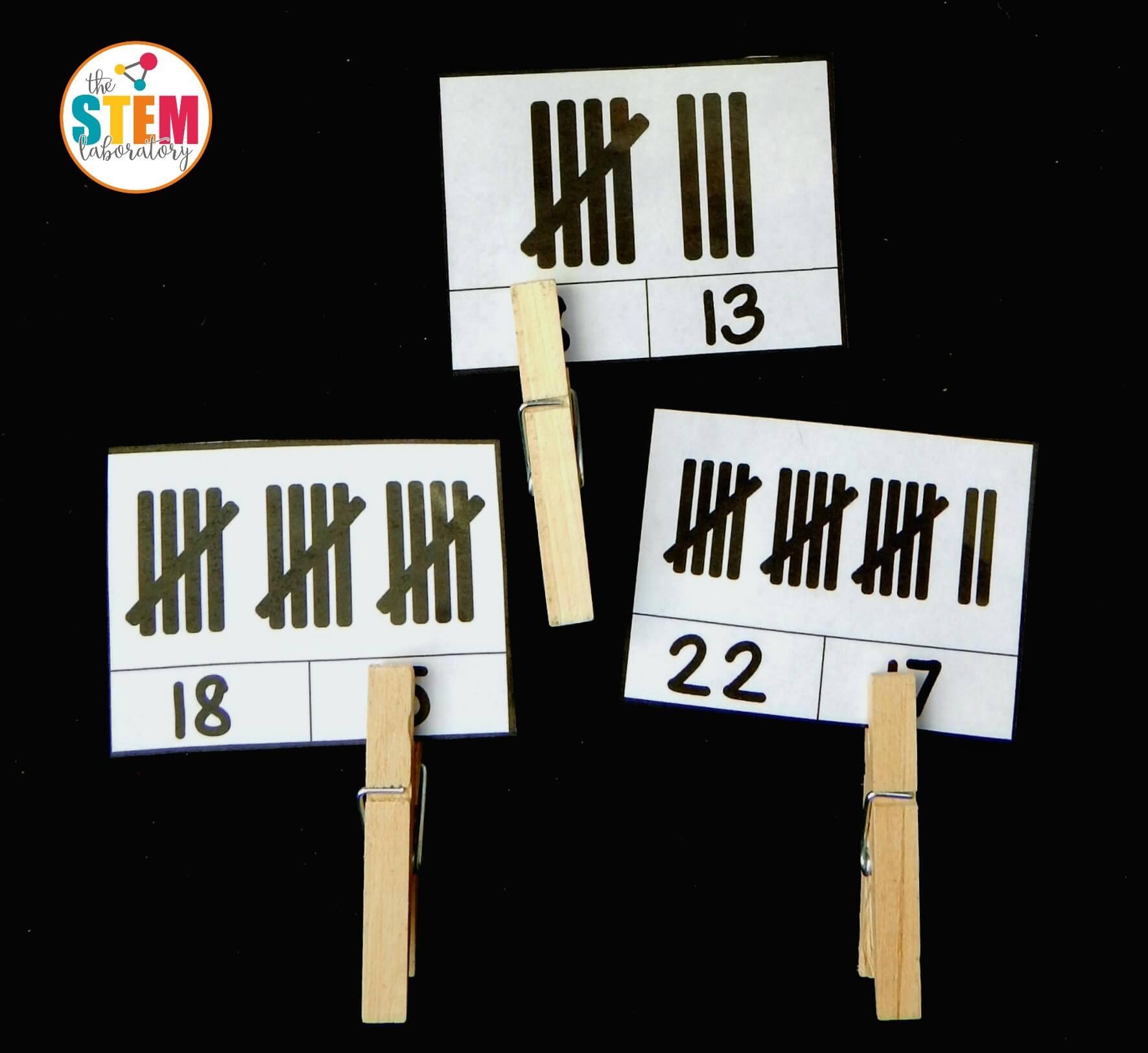 tally mark clip cards 3