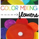 Color Mixing Flower