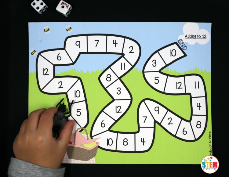 Fun bug math game for kids!