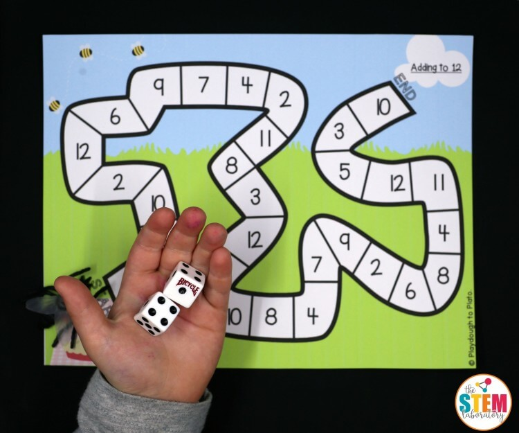 Fun bug math games!