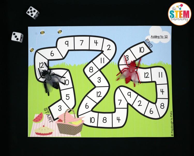 I love this bug math game!