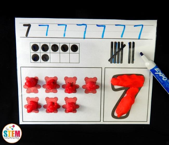 number activity mats 1.