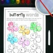 Butterfly Sight Word Game