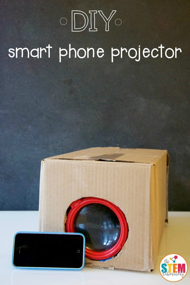 How to make a DIY smart phone projector!