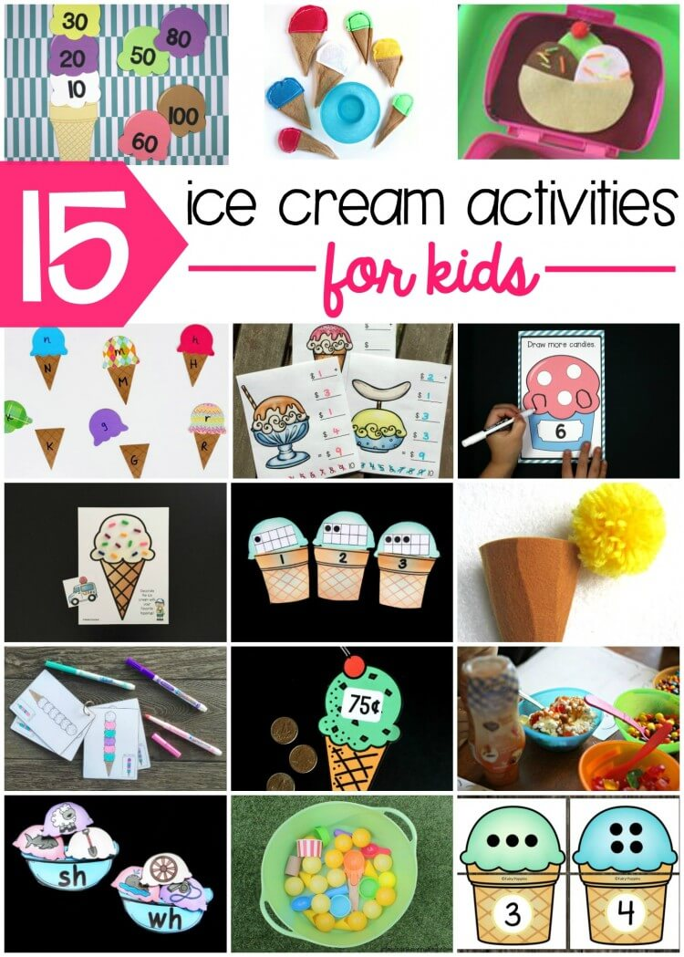 Awesome Ice Cream Activities for Kids!