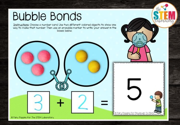 Bubble Number Bond Mats