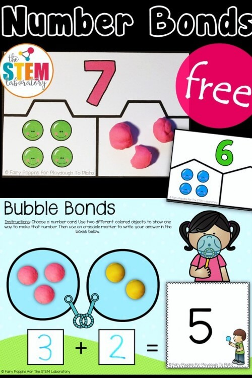 Hands-On Number Bond Activities