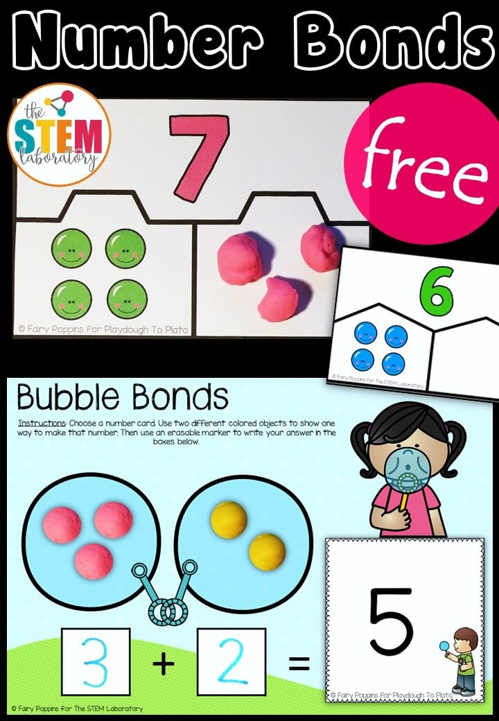 Hands On Number Bond Activities The Stem Laboratory