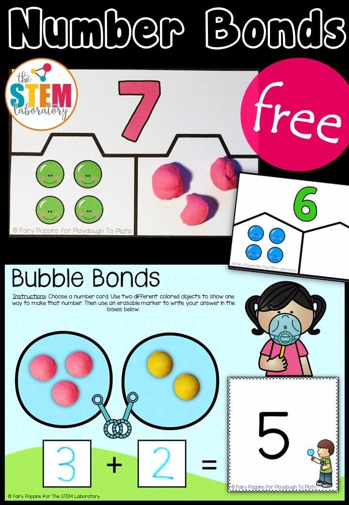 Free Number Bond Activities!