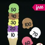 Ice Cream Skip Counting Puzzles