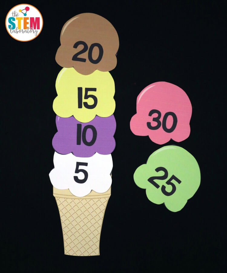Fun free skip counting puzzles!