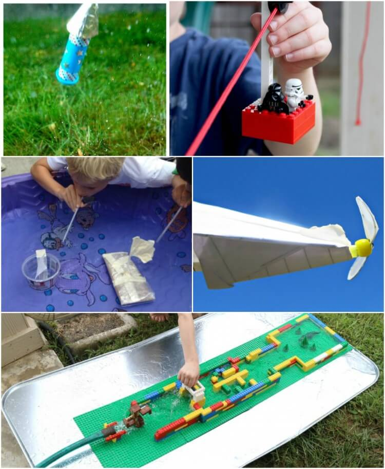 Awesome backyard engineering projects for kids!