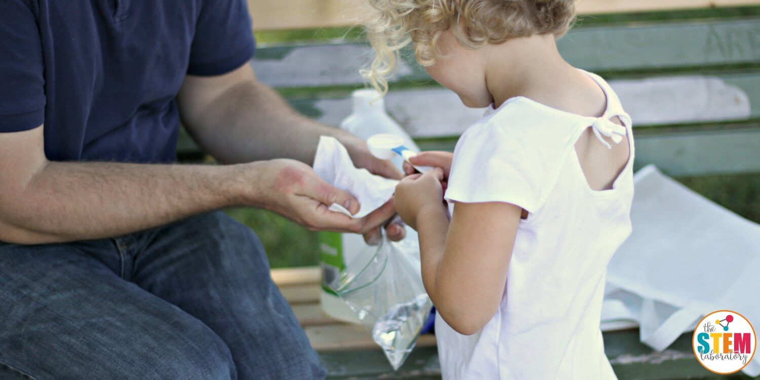 Exploding baggie is an explosive twist on a classic science experiment for kids. Gather a few simple supplies, head outside, and run for cover!