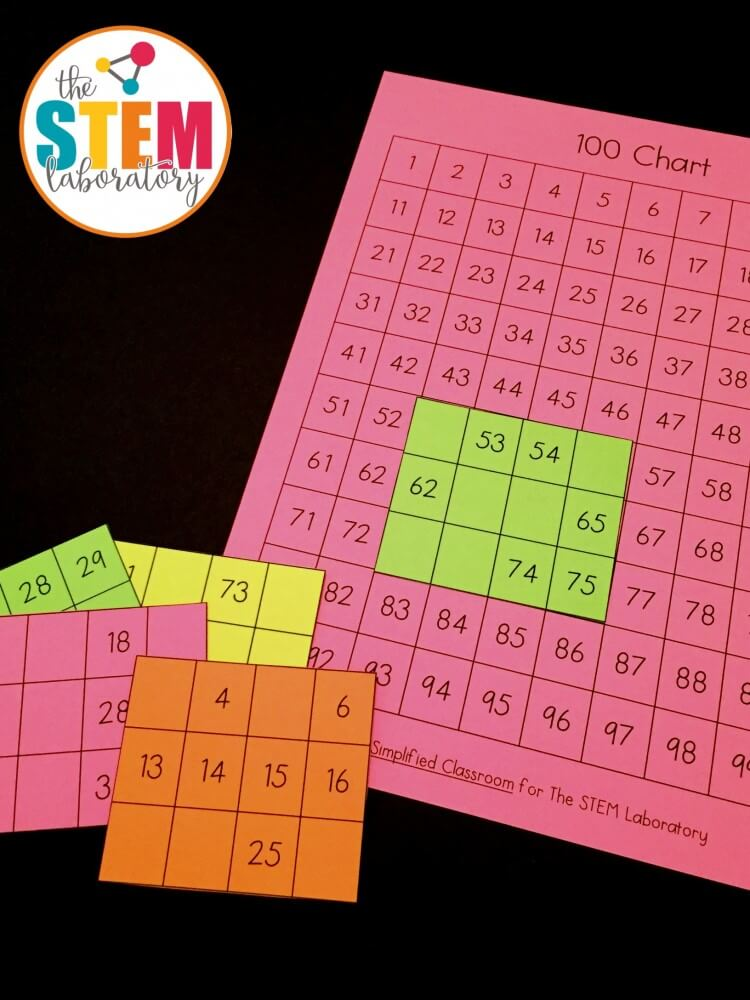 Free number sense puzzles for first graders!