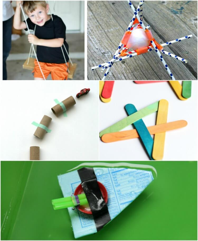 Super cool backyard engineering projects for kids!