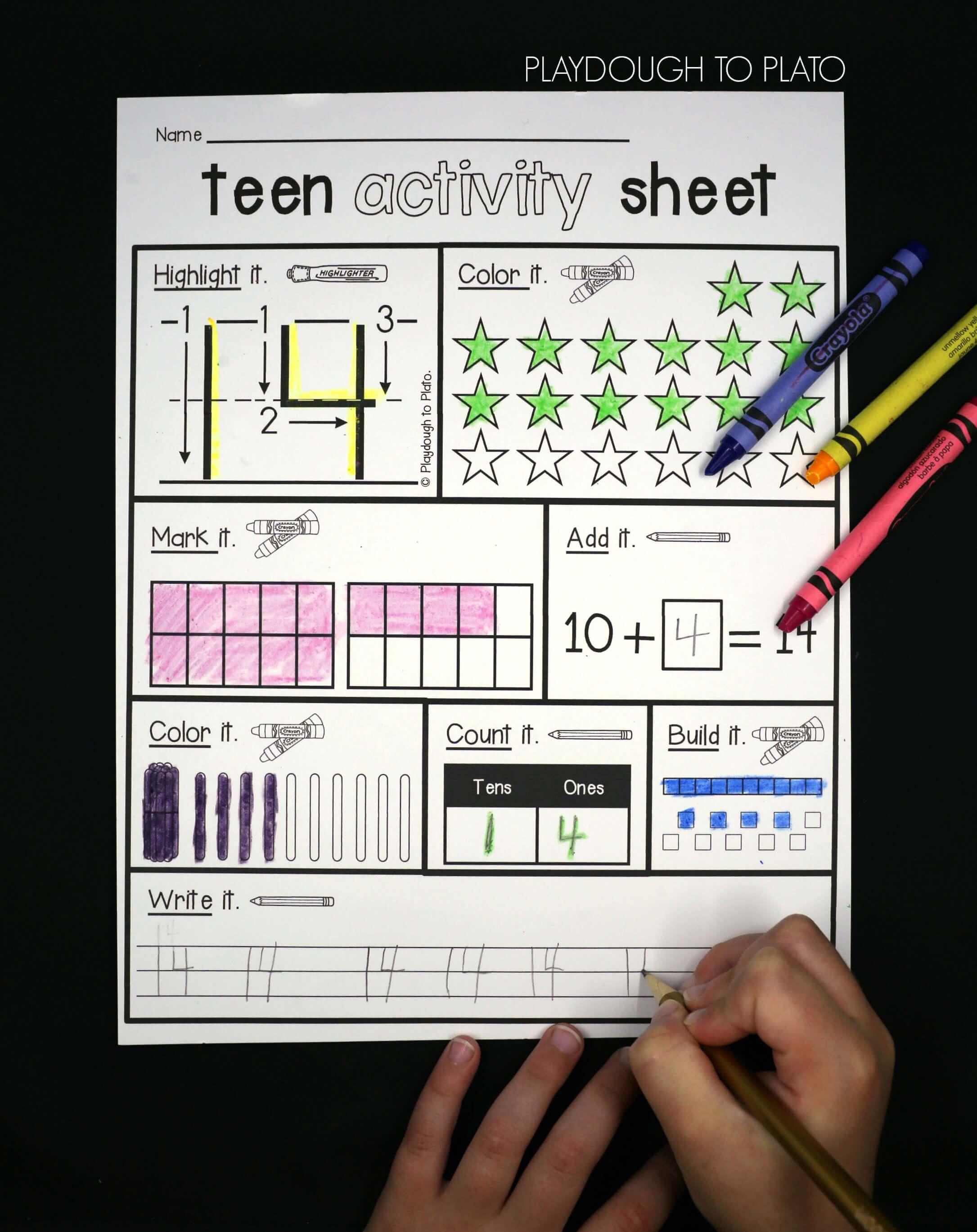 Activity Teen 10