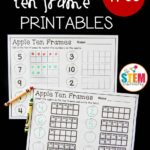 Apple Ten Frame Printables