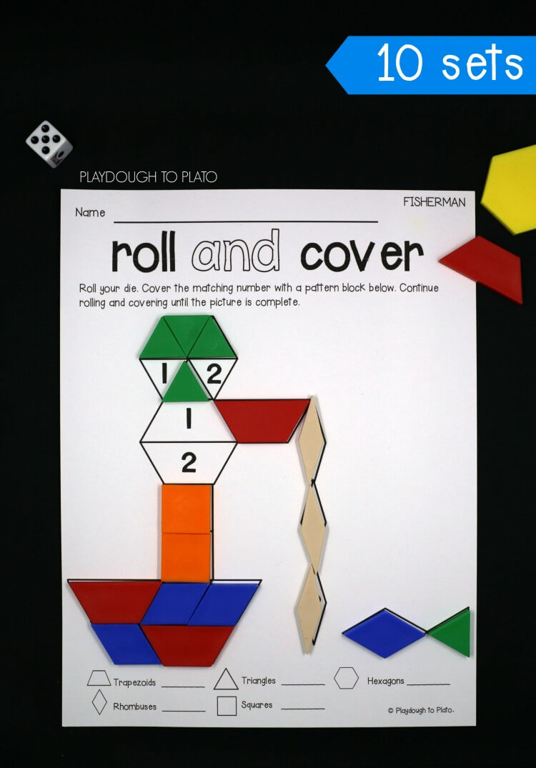 10 roll and cover pattern block mats!