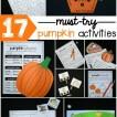 17 must-try pumpkin activities for first grade