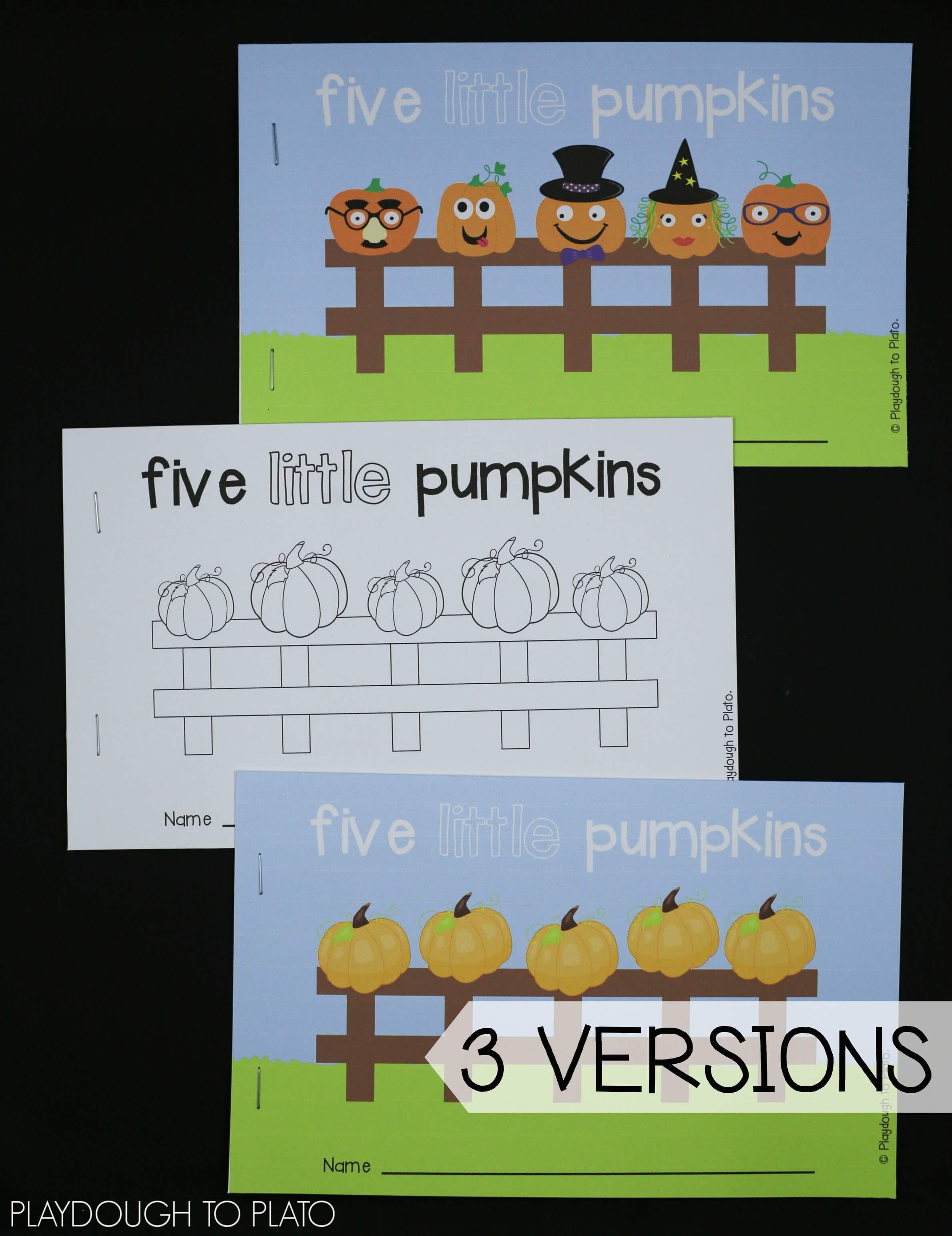 Pumpkin Activity Pack - Preschool and Kindergarten - The Stem Laboratory